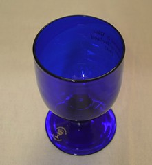 Weekly Challenge - Blue (Anj_23) Tags: blue goblet glass