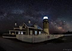 Highland Lighthouse (robert_golub) Tags: truro highlandlight longexposure lighthouse capecod milkyway