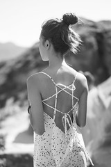 Beautiful Back (jasoncremephotography) Tags: leica sl leicasl blackandwhite monochrome summilux girl summer