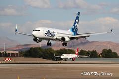 N583AS (320-ROC) Tags: alaska alaskaairlines n583as boeing737 boeing737800 boeing737890 boeing 737 737800 737890 b738 las klas lasvegasairport lasvegasmccarraninternationalairport lasvegasinternationalairport lasvegasmccarranairport lasvegas