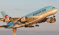 HL7612 - Airbus A380-861 - LHR (Seán Noel O'Connell) Tags: koreanair hl7612 airbus a380861 a388 a380 heathrowairport heathrow lhr egll icn rksi ke908 kal908 aviation avgeek aviationphotography planespotting