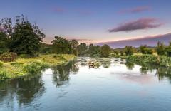Avon Clouds (nicklucas2) Tags: landscape avon river ringwood hampshire cloud water