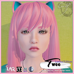 Twee ADS --- Stix 2019 x2 (Pixy Snook) Tags: catwa catya bento kimberly lilo lona lelutka simone 20 chloe cate genesis mesh head appliers skin fair 2017 exclusive second life goddess maitreya pale girl productions avatar skins addiction beauty makeup lipgloss cosmetics glamour omega virtual sl world portrait digital painting people women exotic designer fantasy laq