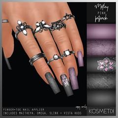 K O S M E T I K Nail Applier - Motley Pink (.kosmetik) Tags: kosmetik newrelease nails nailapplier nail twe12ve slink maitreya eventexclusive omega vista