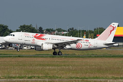 TS-IMP (Andras Regos) Tags: aviation aircraft plane fly airport bud lhbp spotter spotting landing tunisair airbus a320 speciallivery