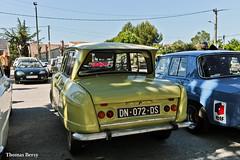 Citroën Ami 6 1963 (tautaudu02) Tags: citroën ami 6 pujaut auto rétro 2016 moto cars coches automobile voitures