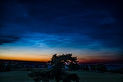 Noctilucent Clouds (clemensgilles) Tags: beautiful nightphotography nachtfotografie astrophotographers astrofotographie noctilucentclouds nlc deutschland eifel germany