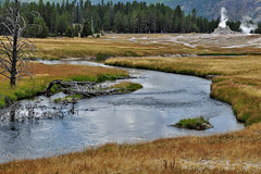 Firehole River (skyhawkpc) Tags: yellowstonenationalpark 2017 copyright allrightsreserved wy wyoming gverver yellowstone nationalpark fireholeriver uppergeyserbasin