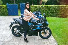 Pasión por esta* moto (katherine.ricoballesteros) Tags: moto motocicleta biker viaje viajes travel traveling