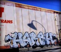 (timetomakethepasta) Tags: harsh d30 freight train graffiti art cryo cryotrans cryx reefer network fs