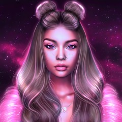 For Hadley. (ShortTempered) Tags: secondlife sl second avatar art artlust hair fantasy painting editing 3d photography poses photoshop photo portrait pink