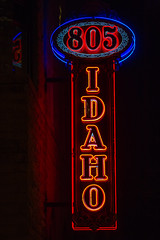 805 (Thomas Hawk) Tags: 805idaho boise idaho usa unitedstates unitedstatesofamerica neon neonsign fav10