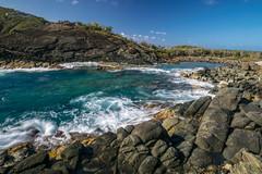 Wild St. Thomas (tquist24) Tags: caribbean caribbeansea nikon nikond5300 outdoor stthomas usvirginislands virginislands beach geotagged island longexposure nature ocean outside rock rocks rocky sky tropical water waves