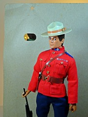 Hasbro – Adventure Team – Muscle Body – Eagle Eye Man of Action – Card Back with Canadian Mountie Outfit on MOA (My Toy Museum) Tags: g i joe hasbro adventure team muscle body man action figure eagle eye