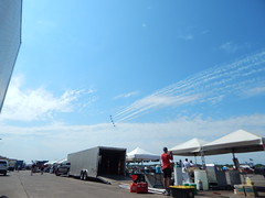 DSCN0311 (mestes76) Tags: 070818 duluth minnesota duluthairshow airshows jets planes inflight sky jettrails