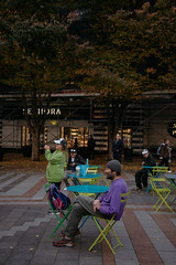SDOT - PARK (Seattle Department of Transportation) Tags: parks parklets placemaking people sitting chairs tables seattle sdot transportation