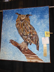 Janice Kelber - Miss Who (c_nilsen) Tags: sanmateocounty sanmateo sanmateocountyfair fair countyfair digital digitalphoto california quilt owl