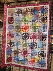 Gale Green - Diamond quilt (c_nilsen) Tags: sanmateocounty sanmateo sanmateocountyfair fair countyfair digital digitalphoto california quilt