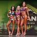 Women's Bikini - Masters Short - 2nd Jennifer Johnston 1st Chrystal Jones 3rd Laura Barnes-5