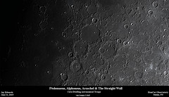 Ptolemaeus_Alphonsus_Arzacnel_TheStraightWall_20190611_HomCavObservatory (homcavobservatory) Tags: homcav observatory crater ptolemaeus alphonsus arzcanel lunar 8inch f7 criterion newtonian reflector zwo asi290mc losmandy g11 mount gemini 2 control system moon astronomy astrophotography