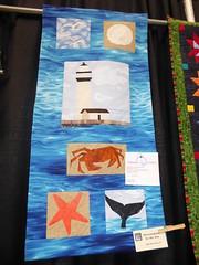 Patricia Bolfing - HMB Seascape (c_nilsen) Tags: sanmateocounty sanmateo sanmateocountyfair fair countyfair digital digitalphoto california quilt halfmoonbay