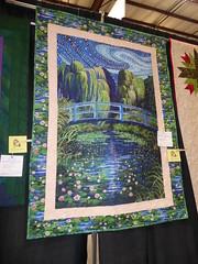 Sue Garcia - Monet's Water Lilly Pond (c_nilsen) Tags: sanmateocounty sanmateo sanmateocountyfair california digital digitalphoto quilt fair countyfair