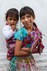 Sisters (brendatharp) Tags: culture guatemala adventure chichicastenango latin travel traveldestination centralamerica people young sisters cultural destination girl family