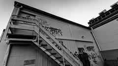 Urban mono (nzcarl) Tags: sony sonya5100 1018mm wide urban monochrome blackandwhite bw