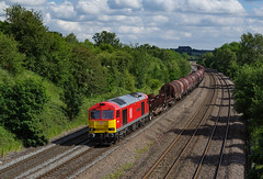 60100 At Hasland. 17/06/2019. (briandean2) Tags: 60100 midlandrailwaybutterley class60 tugs hasland chesterfield derbyshire derbyshirerailways railways ukrailways ukfreighttrains