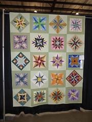 Eight-sided star quilt (c_nilsen) Tags: sanmateocounty sanmateo sanmateocountyfair fair countyfair digital digitalphoto california quilt