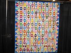 Diamond quilt (c_nilsen) Tags: sanmateocounty sanmateo sanmateocountyfair fair countyfair digital digitalphoto california quilt