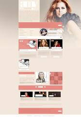 Layout - Amy Adams Brasil (GustavoRoll) Tags: design layout amy adams wordpress fansite