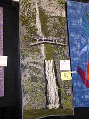 Sue Garcia - Multnomah Falls (c_nilsen) Tags: sanmateocounty sanmateo sanmateocountyfair california digital digitalphoto quilt fair countyfair