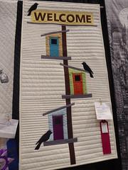 Susan Arnold - Welcome To My Birdhouse (c_nilsen) Tags: sanmateocounty sanmateo sanmateocountyfair california digital digitalphoto quilt fair countyfair