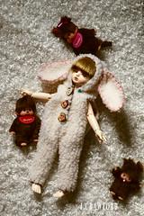 LiL Bopeep (jnhotboy) Tags: monchhichi onesie