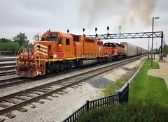 EJE 669- Notch 8 (Khang Lu) Tags: locomotive train railroad job pulldown elginjolieteastern il illinois homewood markhamyard emd 669 sd382 eje