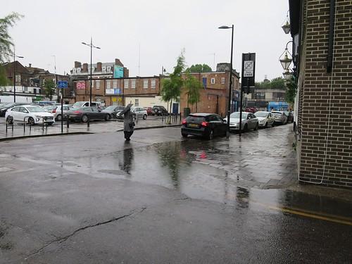 Raining Again - Stoneleigh Road N17 near the Beehive pub