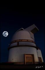 Mauna Kea Observatory (jcsflr) Tags: night mountain moon observatory cold hawaii bigisland