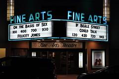 Fine Arts Theater (joseph a) Tags: asheville northcarolina sign neonsign marquee theater movietheater