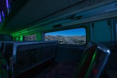 Commuter Comfort (Nocturnal Kansas) Tags: night nocturnal fullmoon metra rail railcar train nightphotography lightpainting d800 nikon flashlight led1 protomachines california longexposure