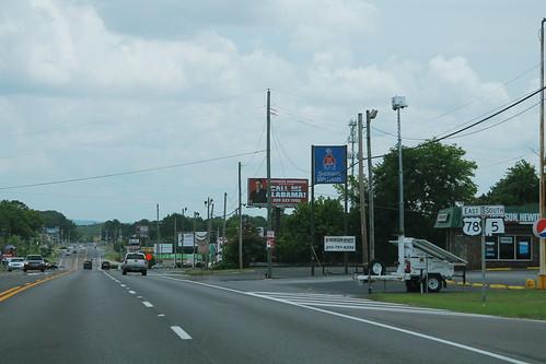 US78 East AL5 South Signs