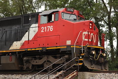 Former warbonnet (DonnieMarcos) Tags: railroad railfanning railway rail rails railroads railfan trains train trainspotting traintrack track cn cnrr canadiannational canadiannationalrr cnr chicago chicagoarea chicagorails chicagoland chicagolandrails illinois ic illinoiscentral c408w dash840cw dash8 ge generalelectric freeport freeportsub cnfreeportsub m337 cnm337 m33791 cnm33791