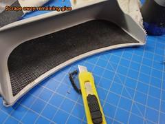 18, Remove adhesive (ZapWizard) Tags: subaru forster modification heat sunglasses