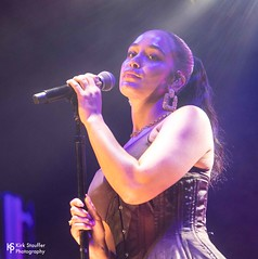 Jorja Smith @ WaMu Theater (Kirk Stauffer) Tags: nikon photographer adorable kirk d5 stauffer show music woman cute girl beautiful beauty lady female wonderful lights amazing concert glamour women perfect pretty tour sweet feminine live gorgeous awesome gig goddess young precious attractive stunning lovely charming fabulous darling siren petite glamorous lovable lighting blue red portrait musician brown white english smile smiling fashion hair photo model eyes long teeth group band style lips short singer indie corset tall ponytail brunette cleavage performer vocals bustier