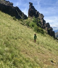 A Granddaughter Hiking In Montana (montanatom1950) Tags: montana hiking outdoors