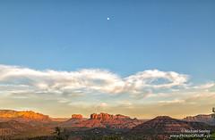 Cathedral Rock in Sedona, Arizona (Michael Seeley) Tags: arizona cathedralrock landscape mikeseeley moon sedona