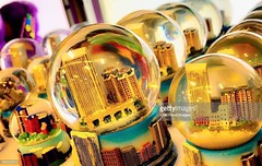 Underwater (Little Hand Images) Tags: snowglobe glass water city linedup novelty gift travel souvenir gettyimages