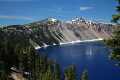 AU3A2579 (MegachromeImages) Tags: crater lake national park or oregon volcano water