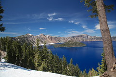 AU3A2593 (MegachromeImages) Tags: crater lake national park or oregon volcano water