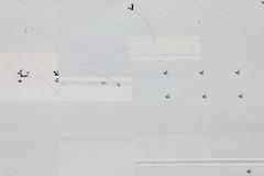 Roof Works (Aerial Photography) Tags: by la ndb 17062009 1ds31885 arbeiter bauarbeiter baustelle bavaria bayern dach dachdecker deutschland einkaufszentrum farbe flachdach fotoklausleidorfwwwleidorfde germany gewerbegebiet grafik grau hallendach landshut landshutpark linien ludwigerhardstrase luftaufnahme luftbild menschen münchnerau p2 reihen siedlung weis aerial buildingworker color colour constructionsite flatroof graphicart graphics grey hallroof industrialarea lines mall outdoor people roof rows settlement shoppingcentre white worker bayernbavaria deutschlandgermany